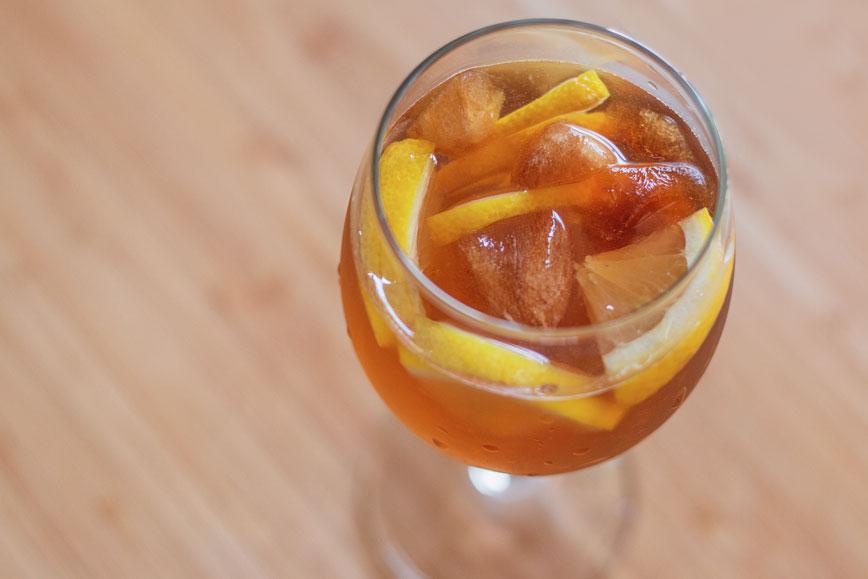 бодрящие холодные напитки для лета: Кофейный лимонад