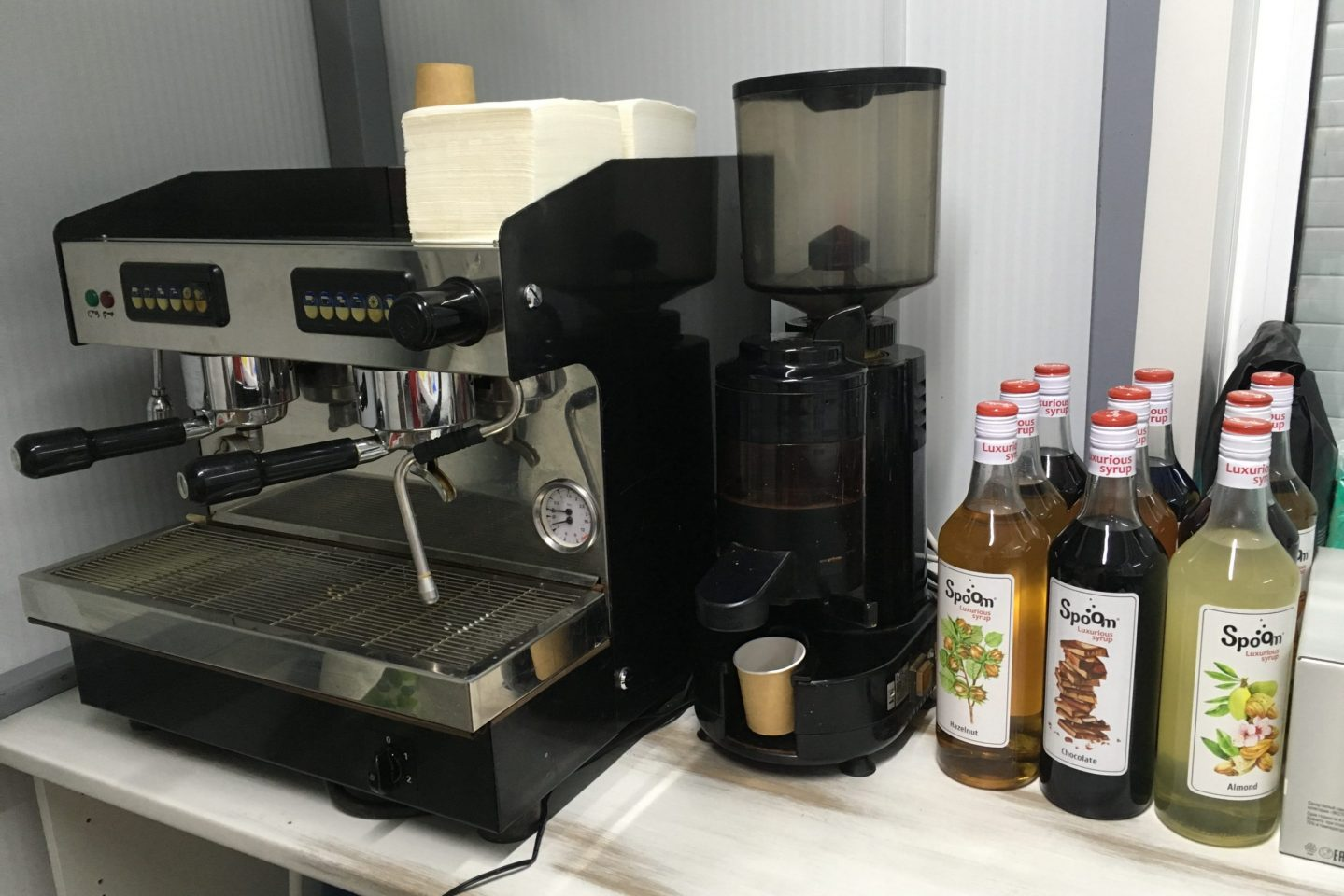 Мой бизнес прогорел: кофемашина