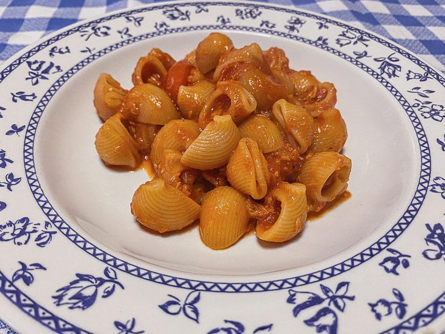 рецепт итальянской пасты: Паста с тунцом