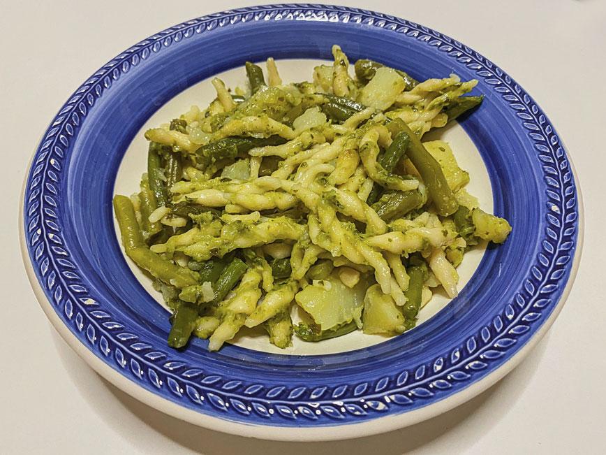 рецепт итальянской пасты: Трофи по-лигурийски