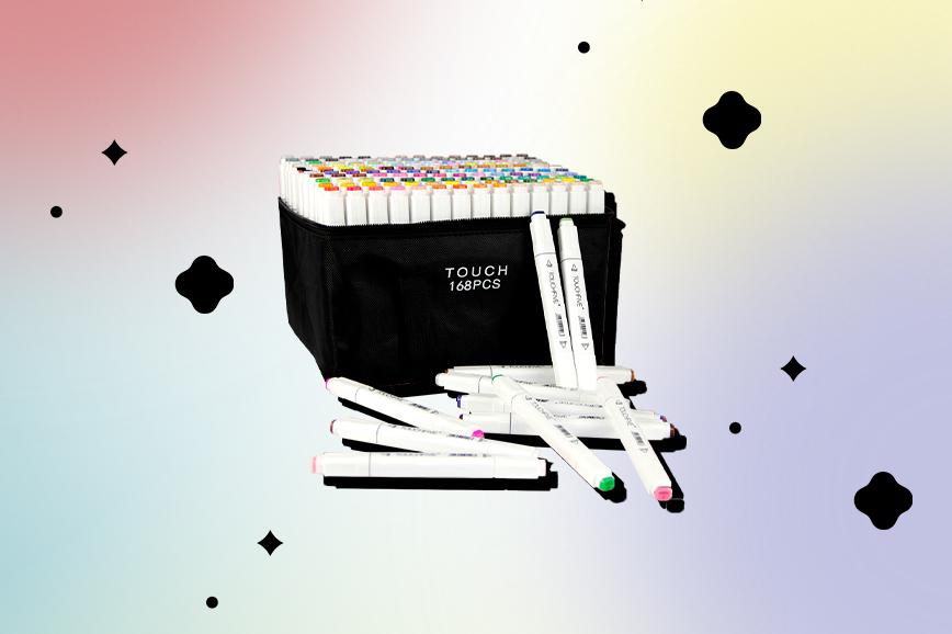 летняя распродажа алиэкспресс: маркеры для скетчбука