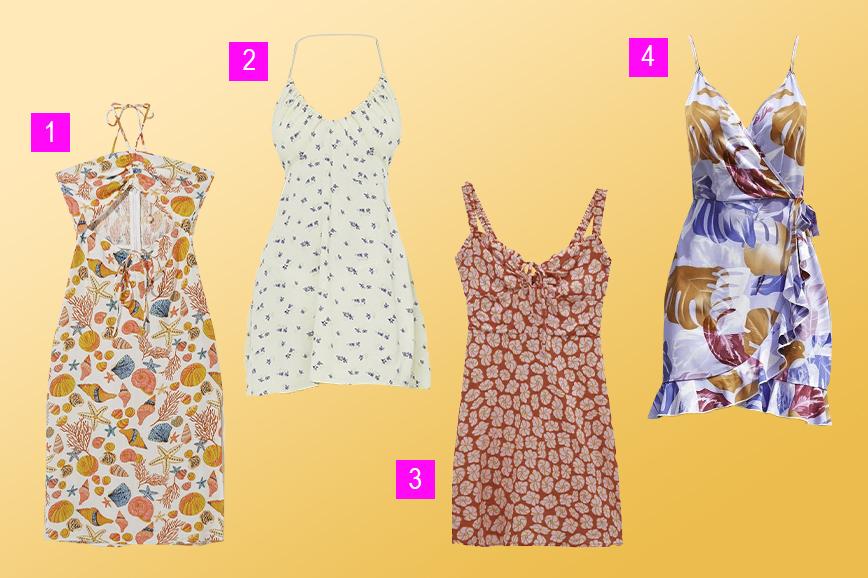 летняя одежда: платье в стиле coconut girl