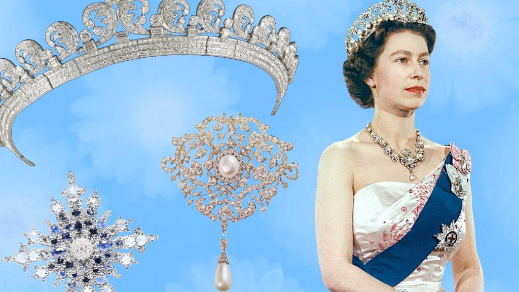 украшения королевской семьи