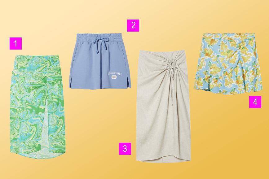 какие юбки купить к лету 2021