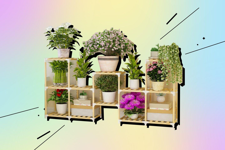 товары для дачи: подставка для растений