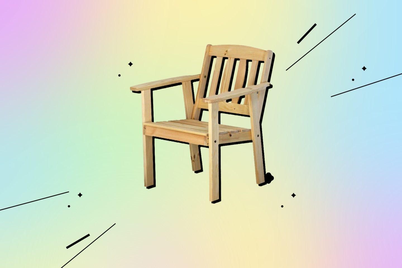 товары для дачи: кресло