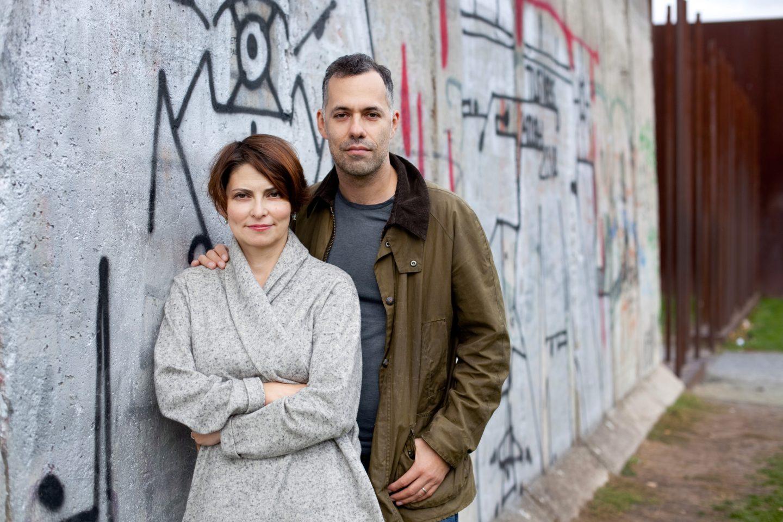 Лили Идова с мужем