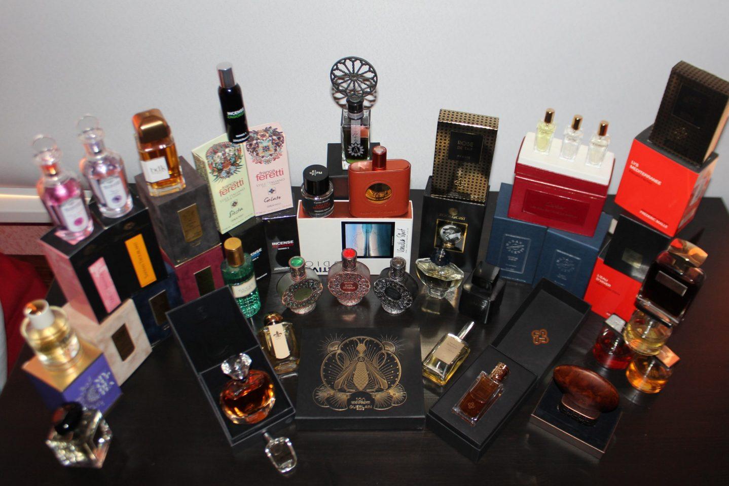 Я коллекционирую парфюм. Коллекция Анастасии Сидоровой