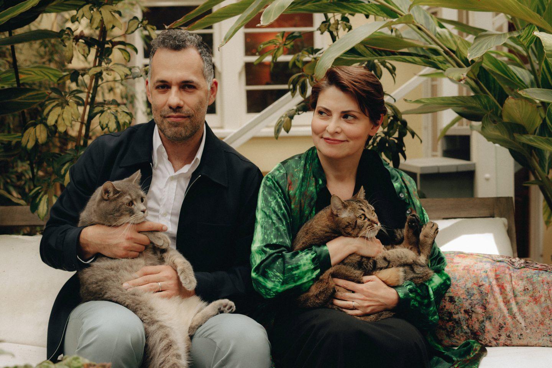 Лили Идова с мужем Михаилом