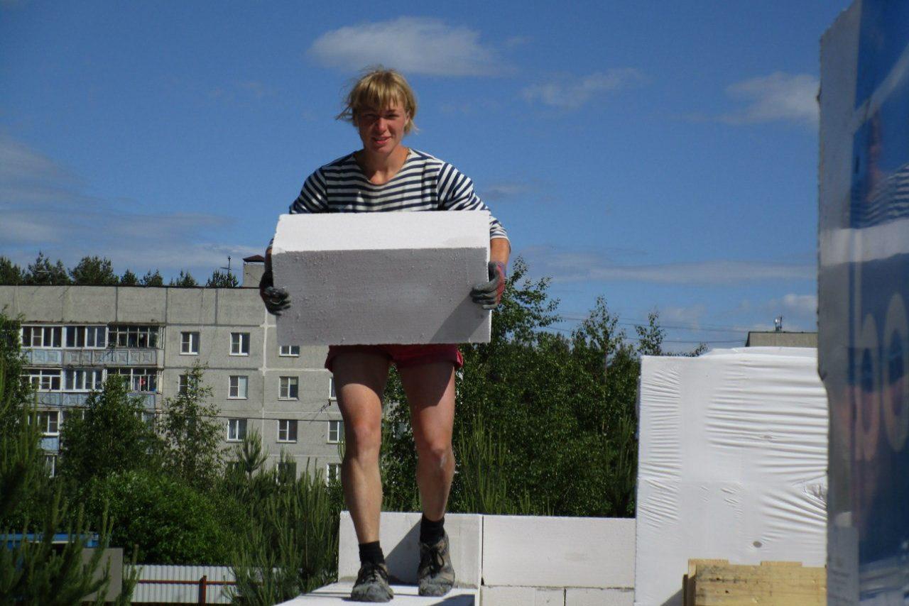 Эльвира Бойко / Я сама построила дом