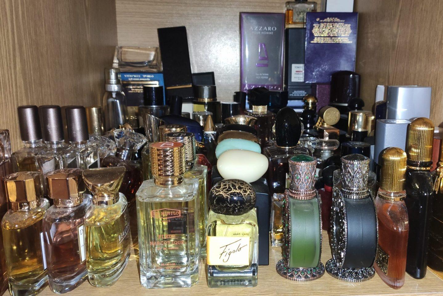 Я коллекционирую парфюм. Коллекция Богдана Зырянова