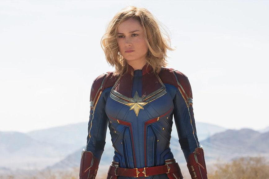 Супергероини: Капитан Марвел