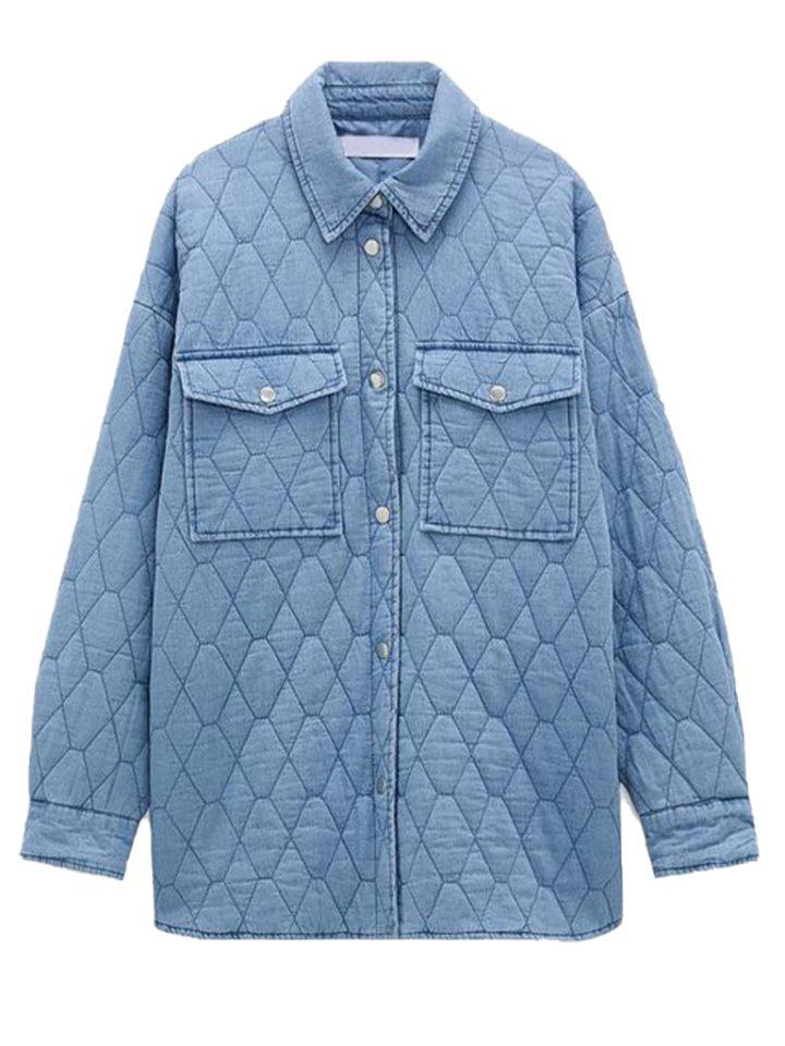 стеганая куртка на осень