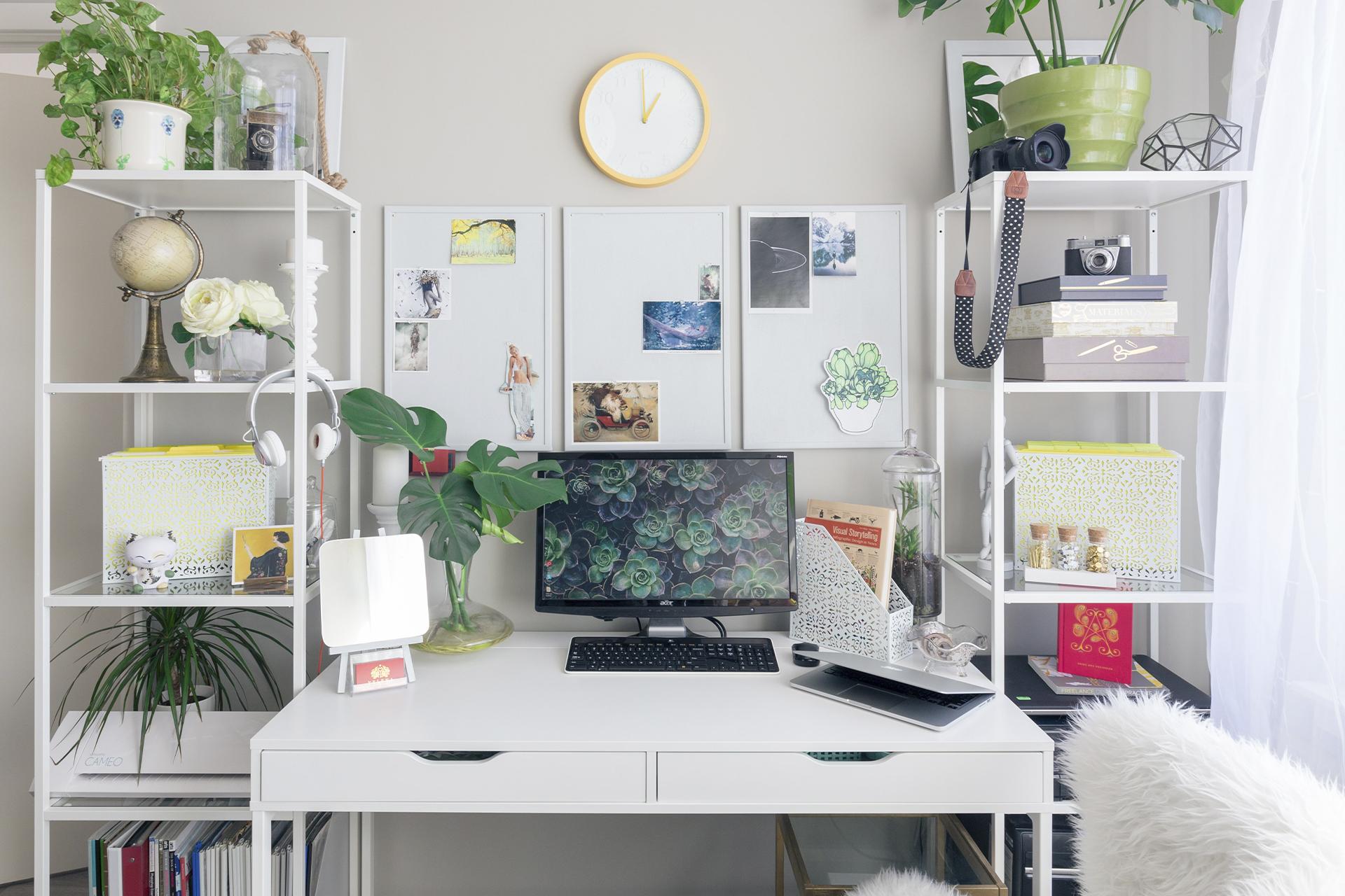 как украсить рабочий стол