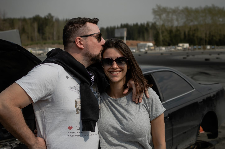 Екатерина Набойченко с мужем