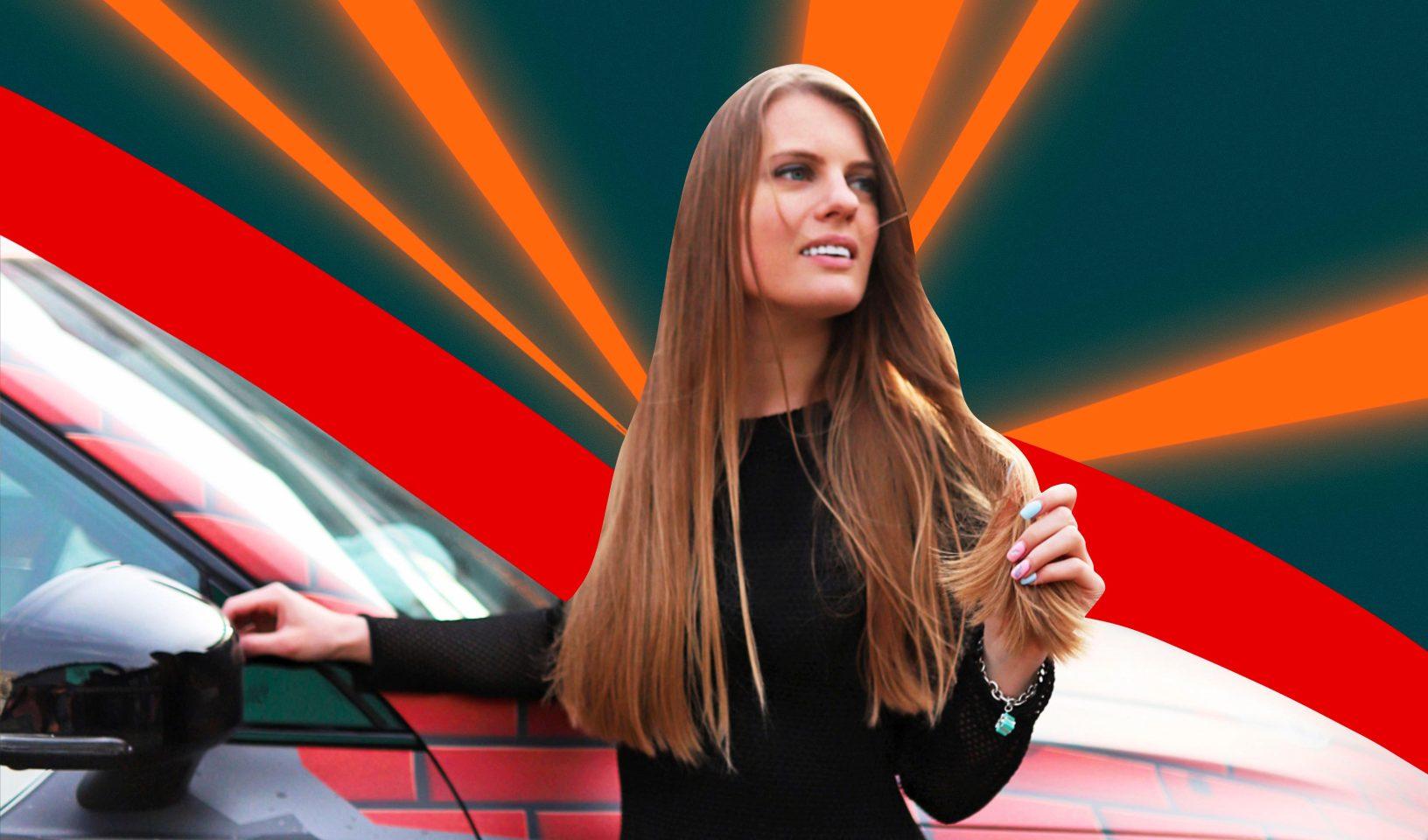 Автоблогер Мария Полищук о первом (купленном тайно!) авто, тест-драйве на льду и ленте без откровенных фото