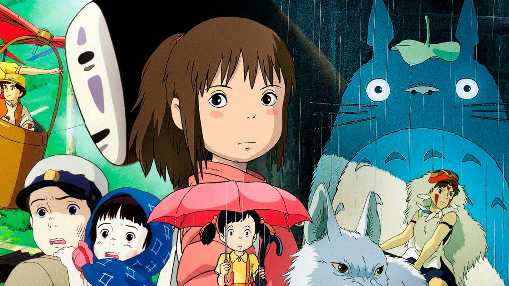 мультфильмы Миядзаки