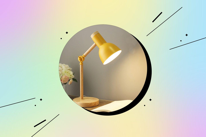 удобная настольная лампа