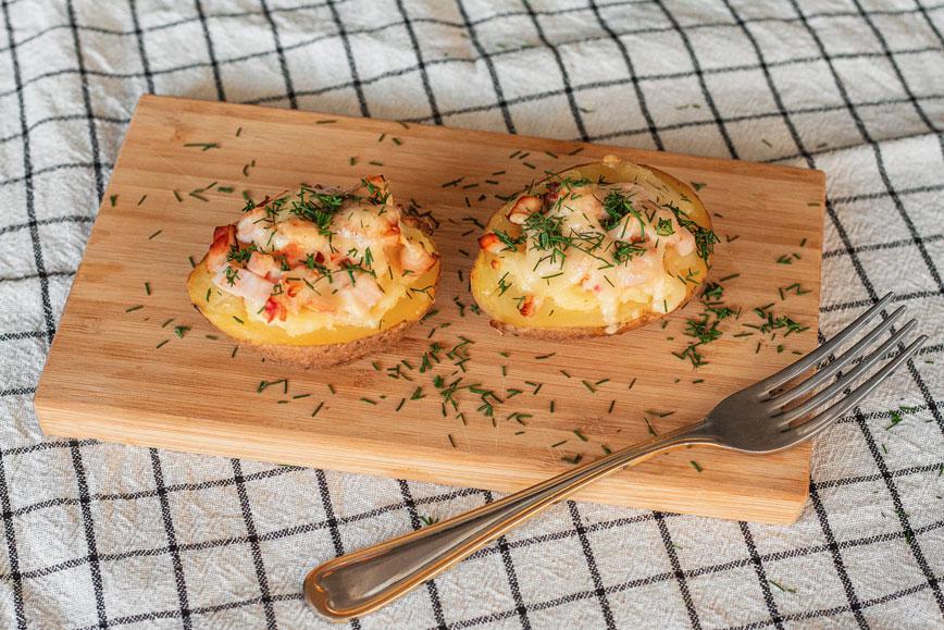 Недорогие рецепты: фаршированный картофель