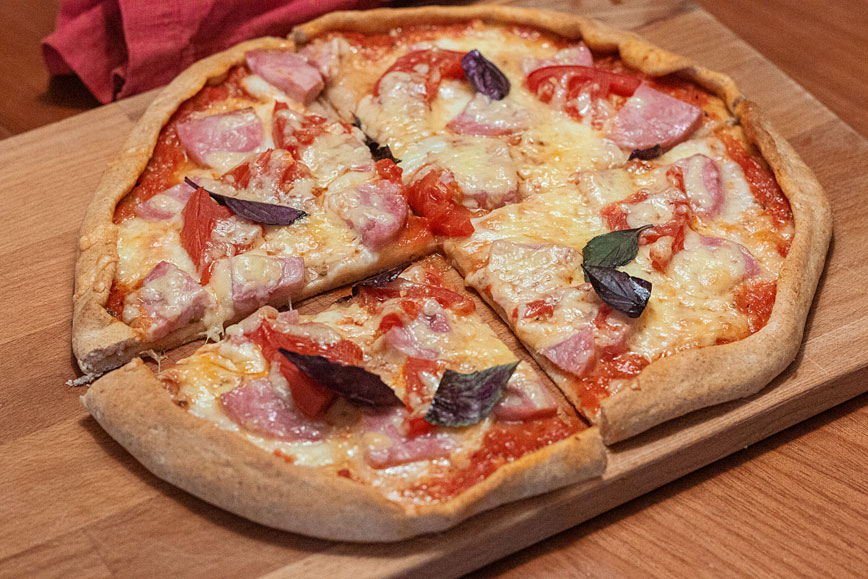 рецепты фастфуда: Домашняя пицца